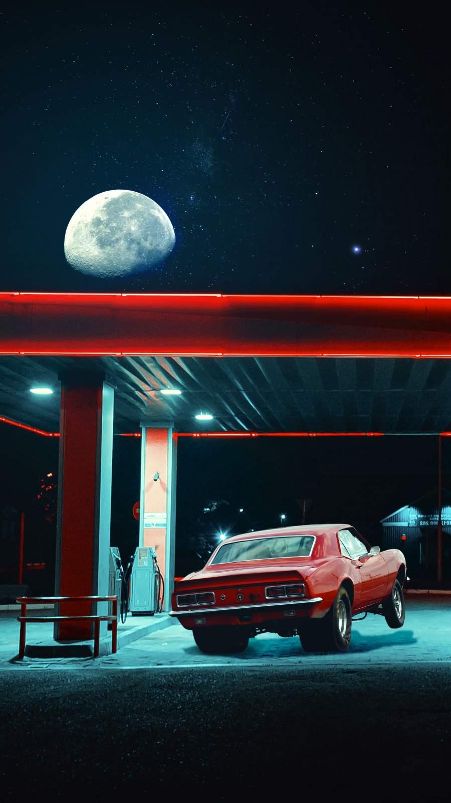 Chevy Camaro Drag Car
