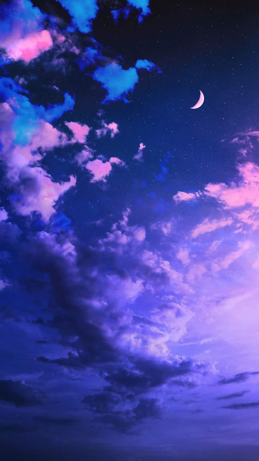 Cloudy Sky iPhone Wallpaper