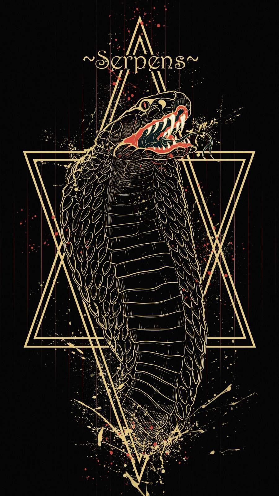 Cobra King iPhone Wallpaper