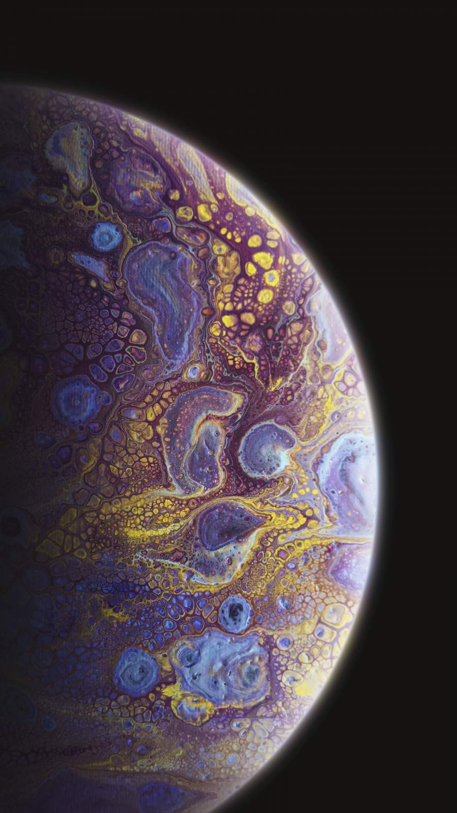Deep Space Oil Planet