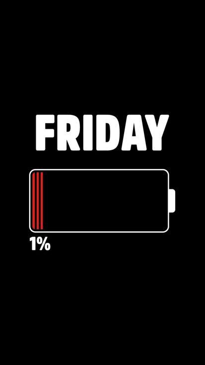 Friday iPhone Wallpaper