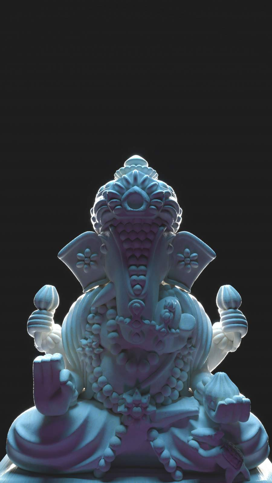 Ganesha God iPhone Wallpaper