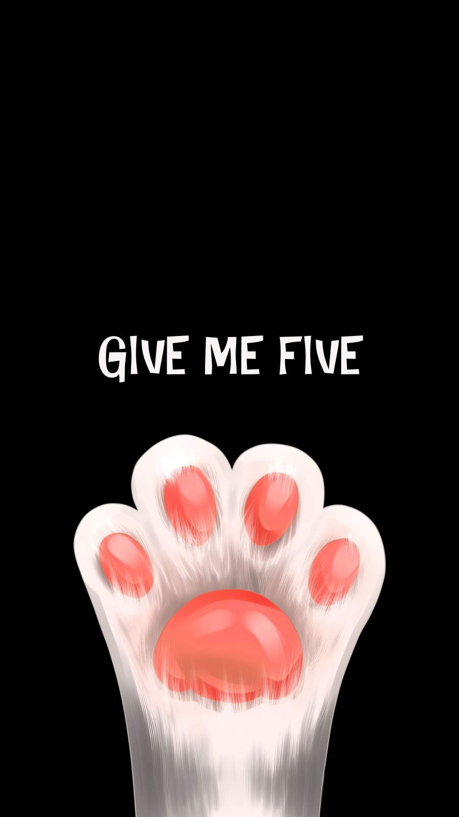 Give Me Five iPhone Wallpaper