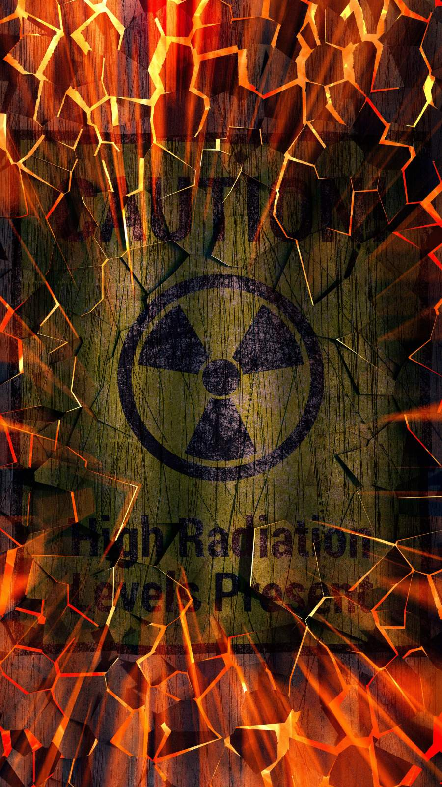 High Radiation iPhone Wallpaper