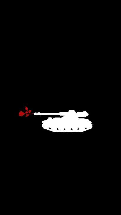 Love Tank iPhone Wallpaper