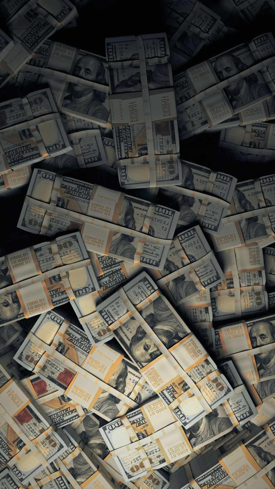 Money Stack iPhone Wallpaper