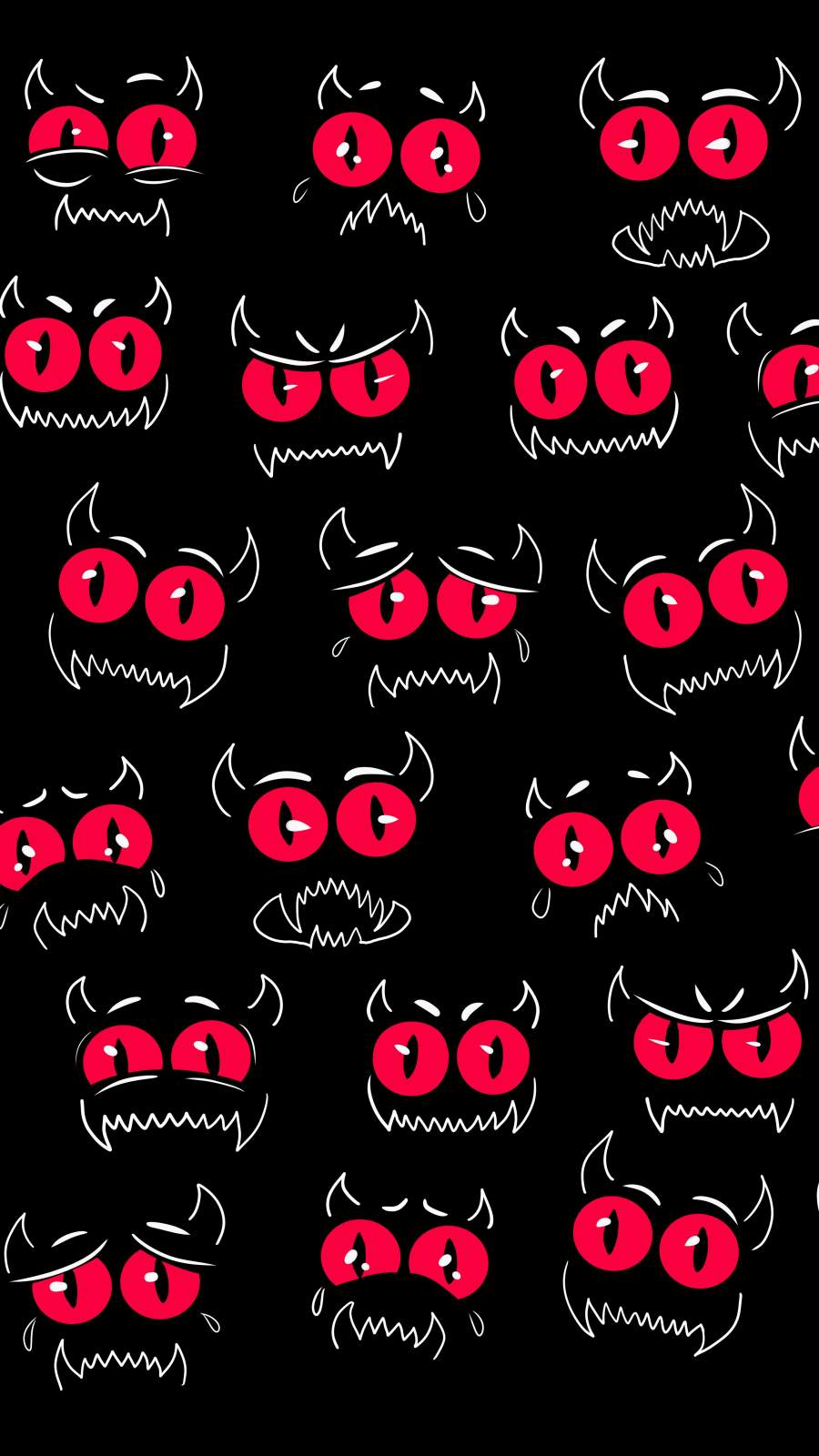 Monster Emotion Faces
