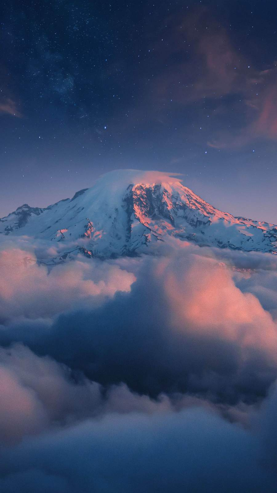 Mountain Snow Clouds