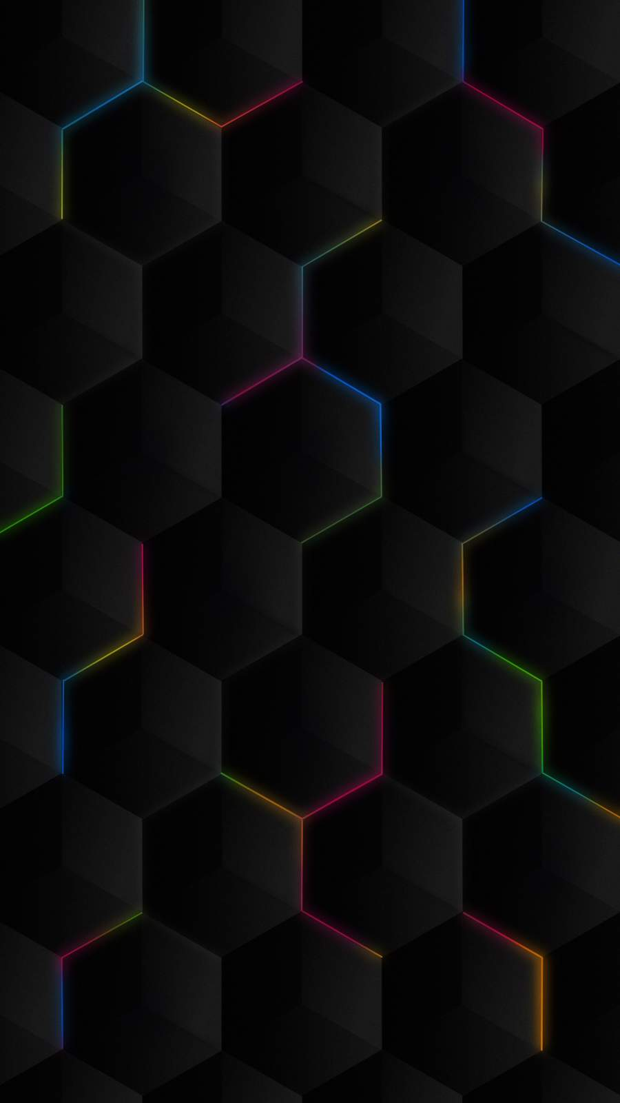 Neon Hexagon RGB Light