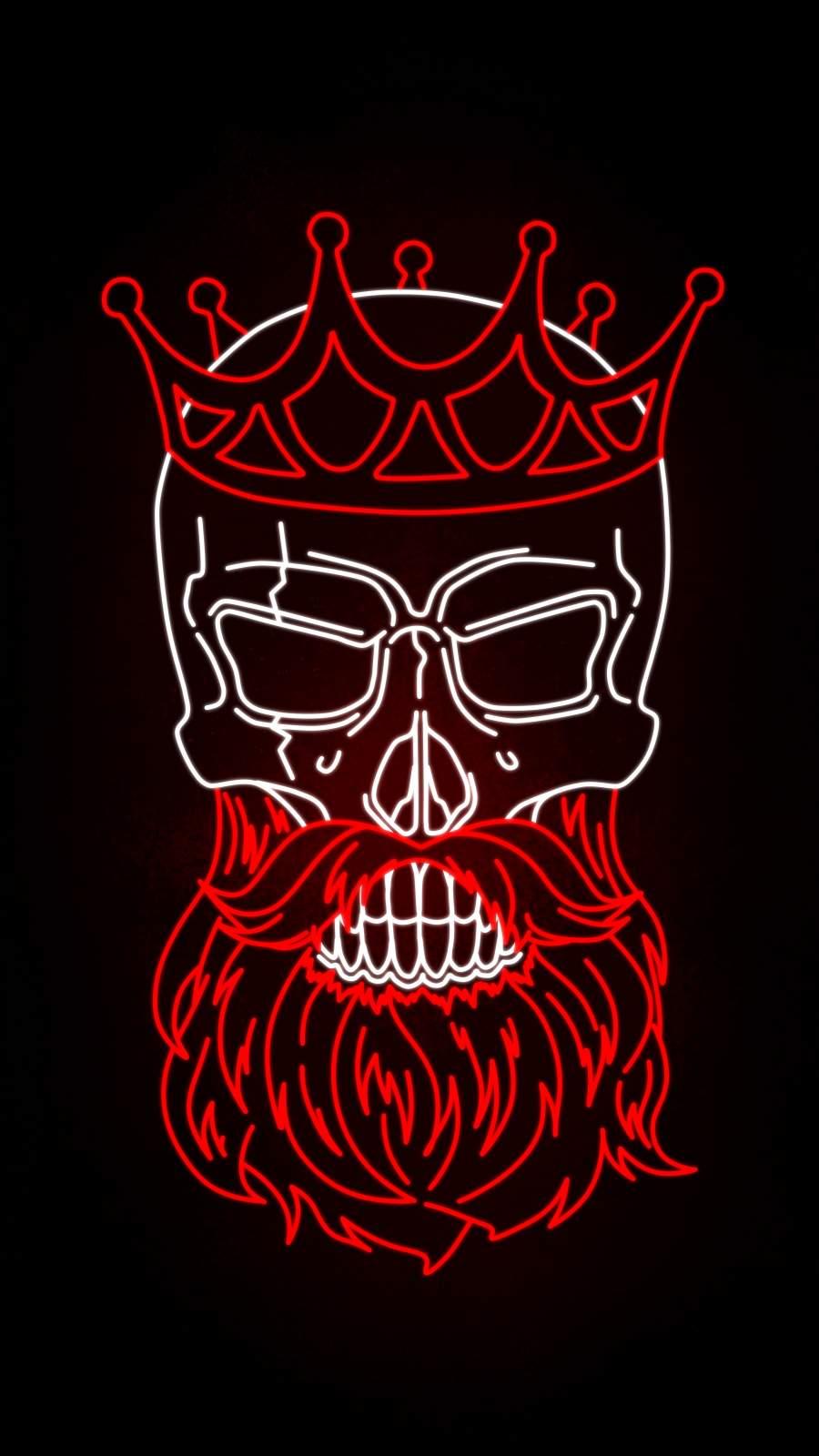 Neon Skull King