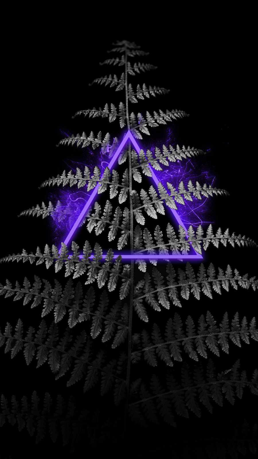 Neon Tree iPhone Wallpaper