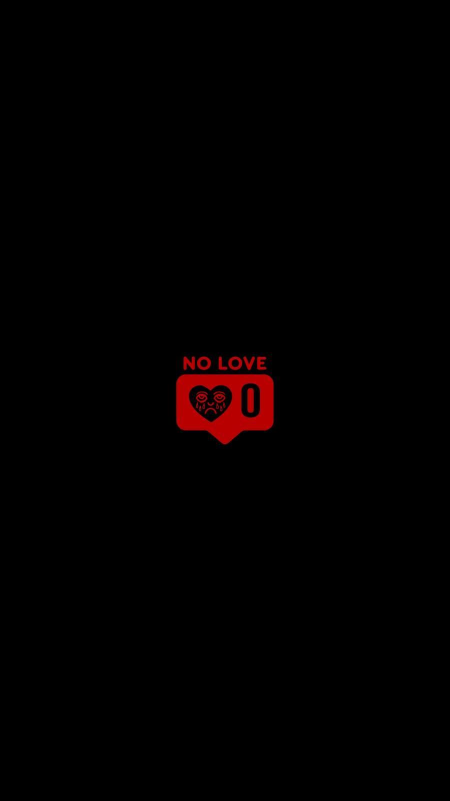 No Love Background