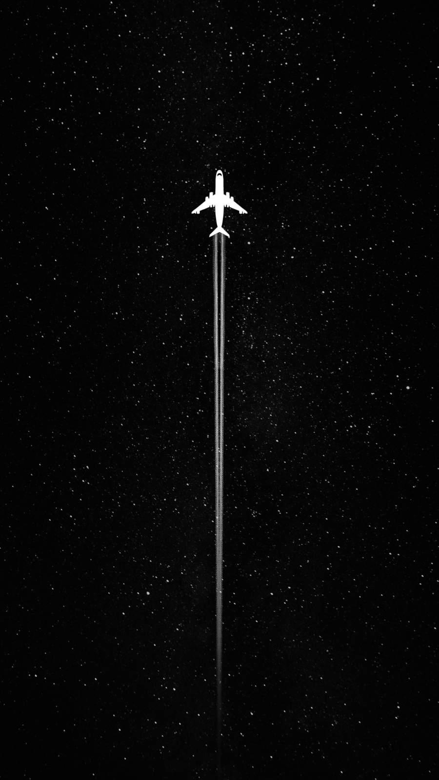 Plane in Sky Minimal