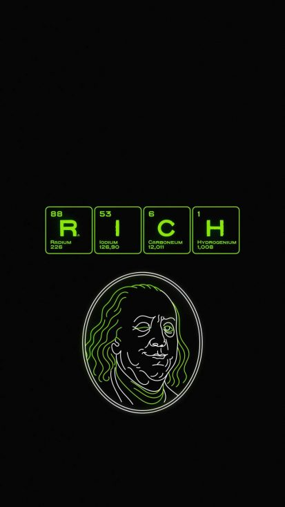 RICH iPhone Wallpaper