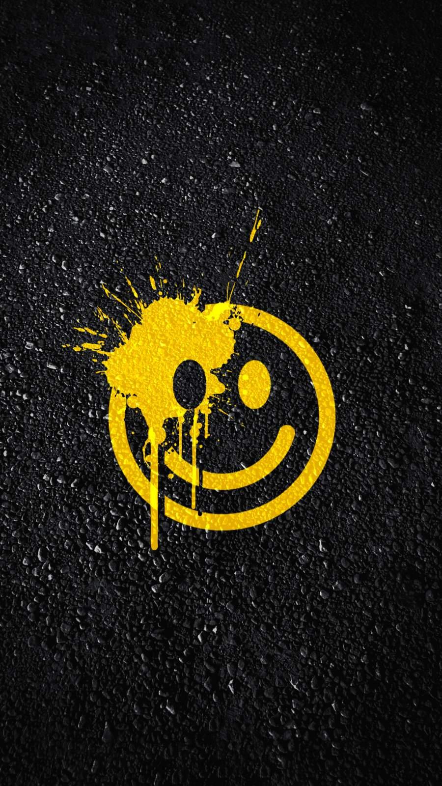 Sad Smile iPhone Wallpaper