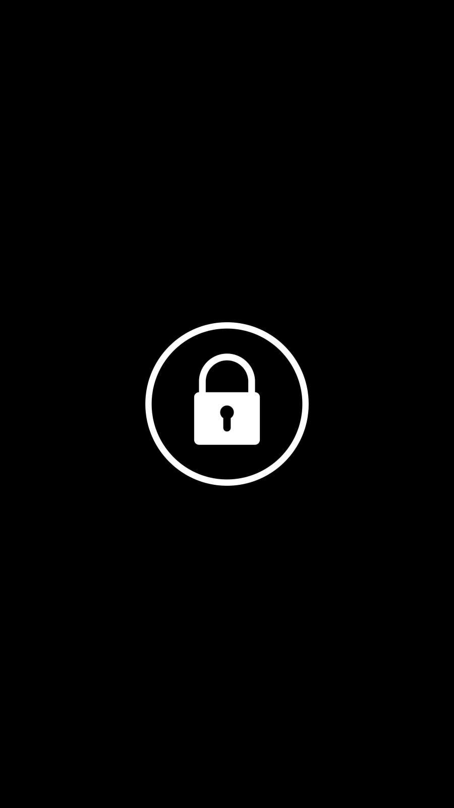 Screen Lock iPhone Wallpaper