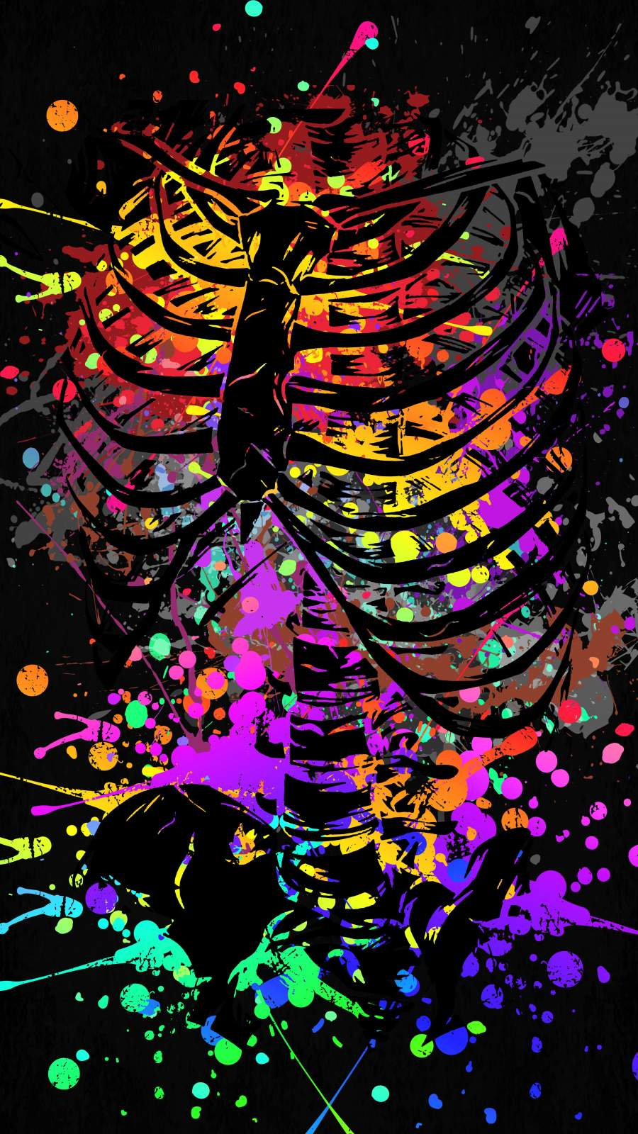 Skeleton Splash Artwork