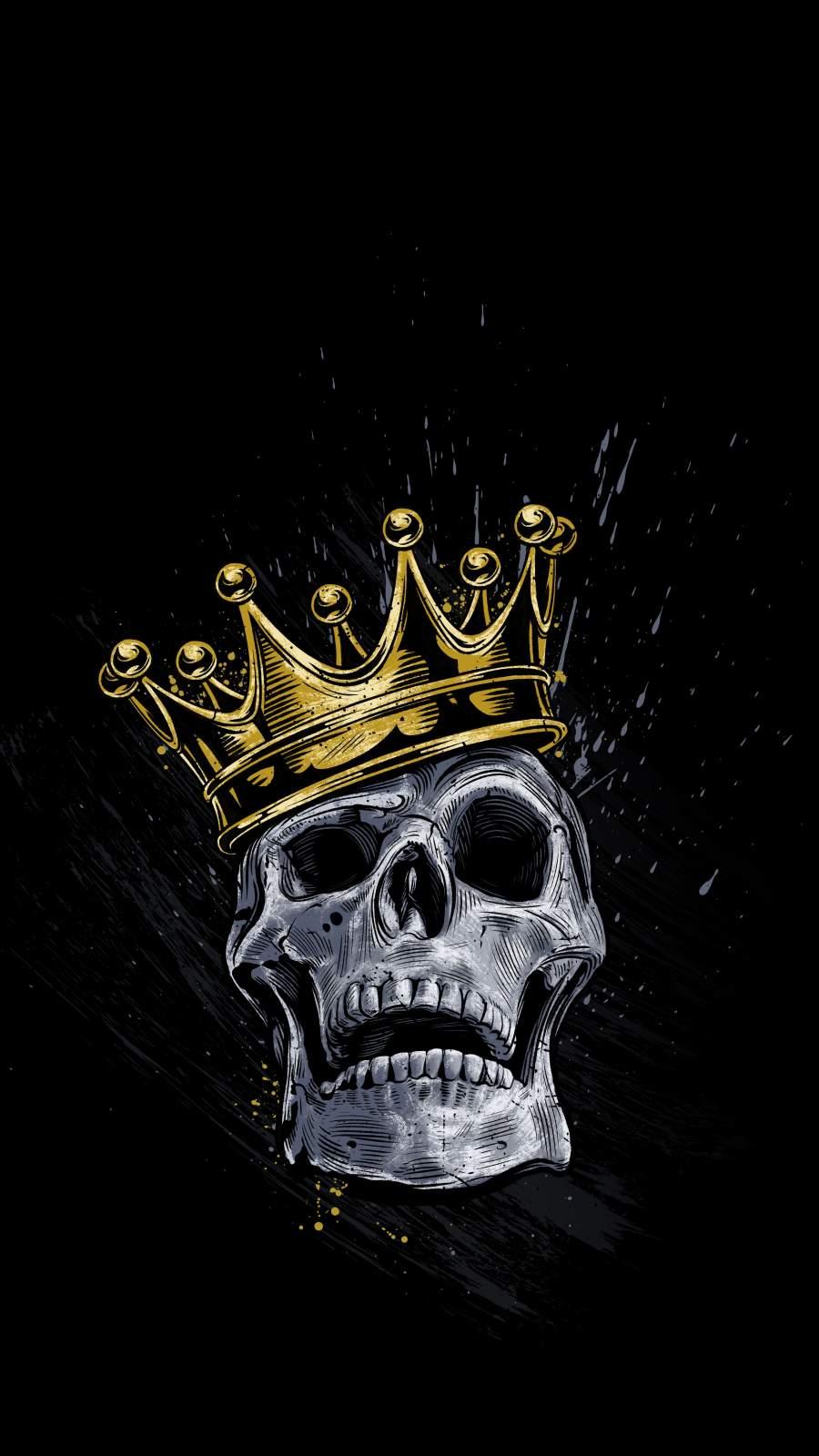 Skull King iPhone Wallpaper