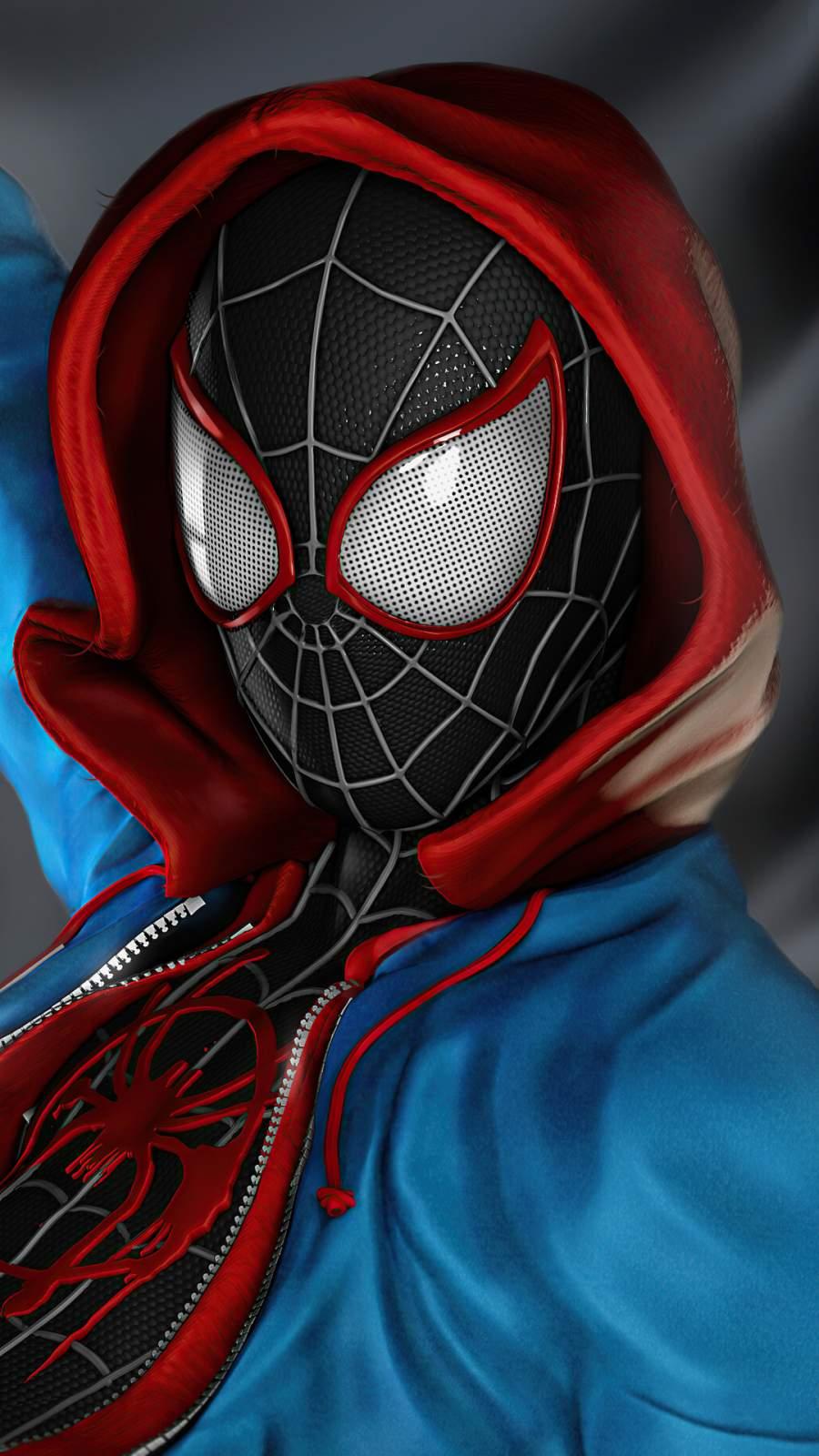Spider Man miles morales costume