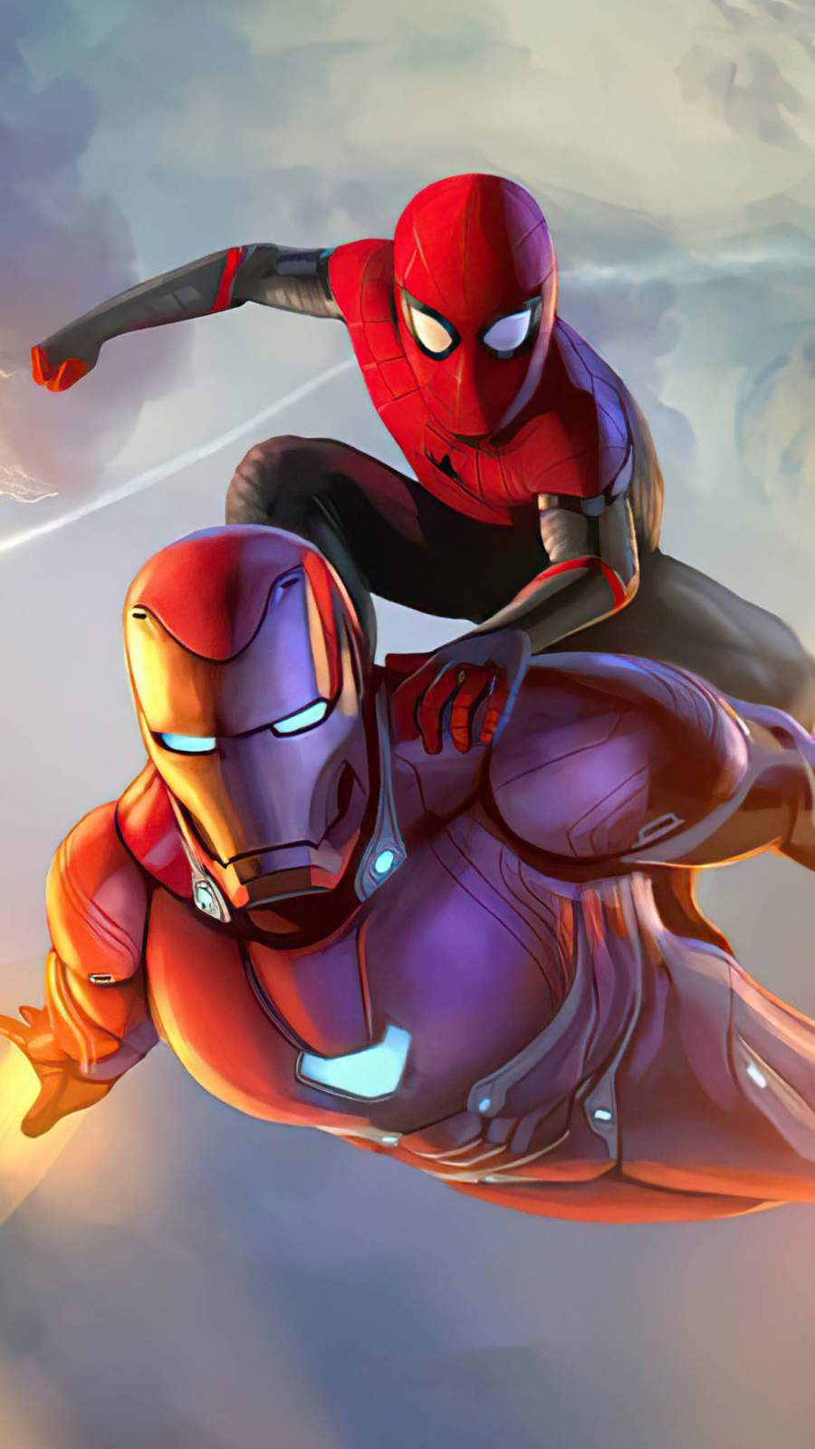 Spider man and iron man
