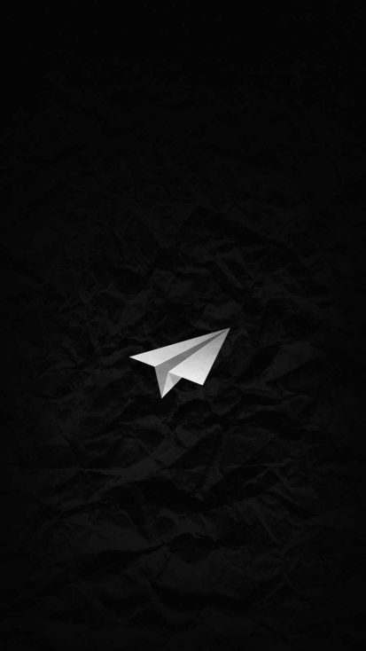 Telegram iPhone Wallpaper