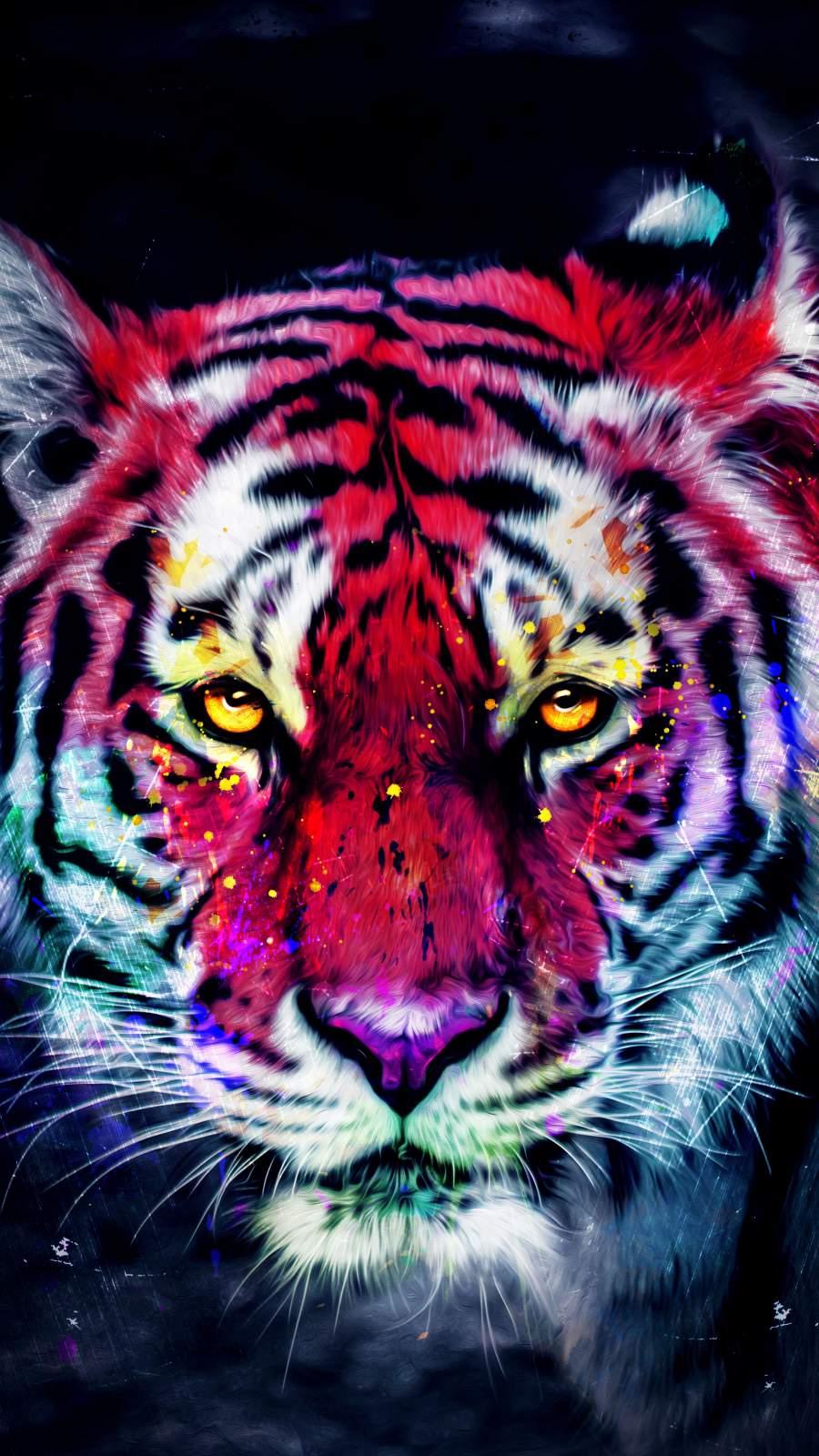 Tiger King Face Art