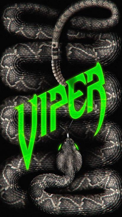 Viper Snake iPhone Wallpaper