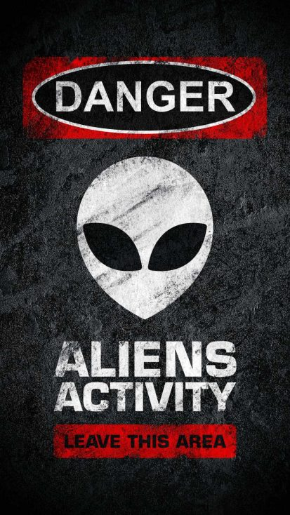 Aliens Activity Warning