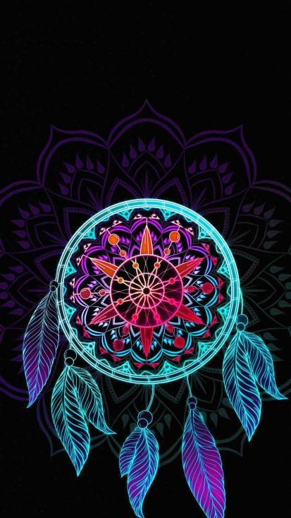 Amoled Art iPhone Wallpaper