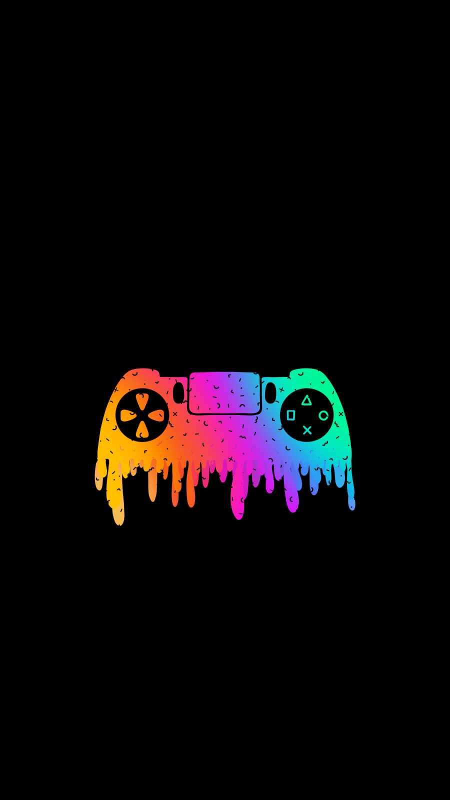 Amoled Gamer iPhone Wallpaper