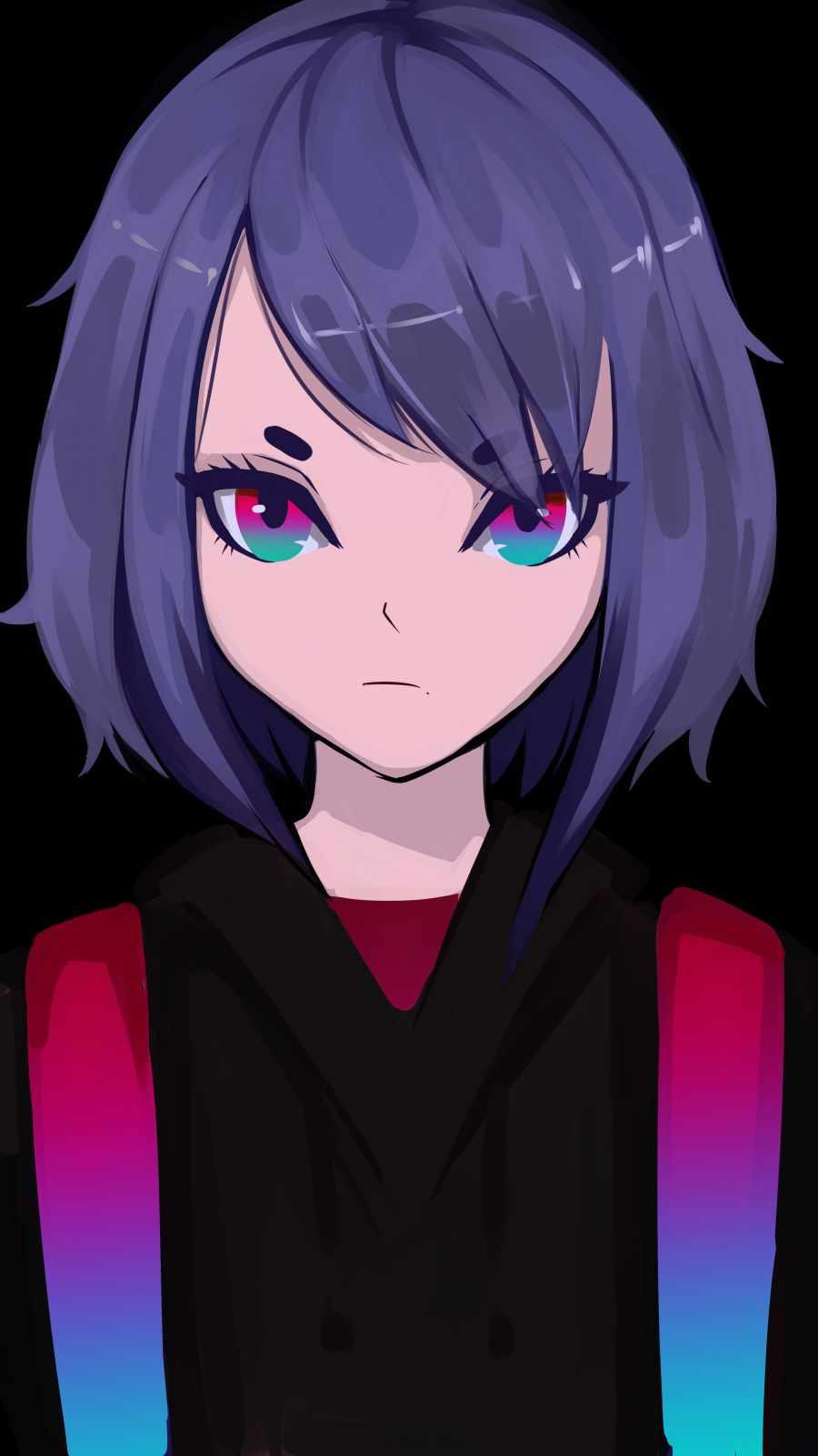 Anime Girl Wallpaper iPhone Wallpaper