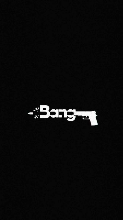 BANG iPhone Wallpaper