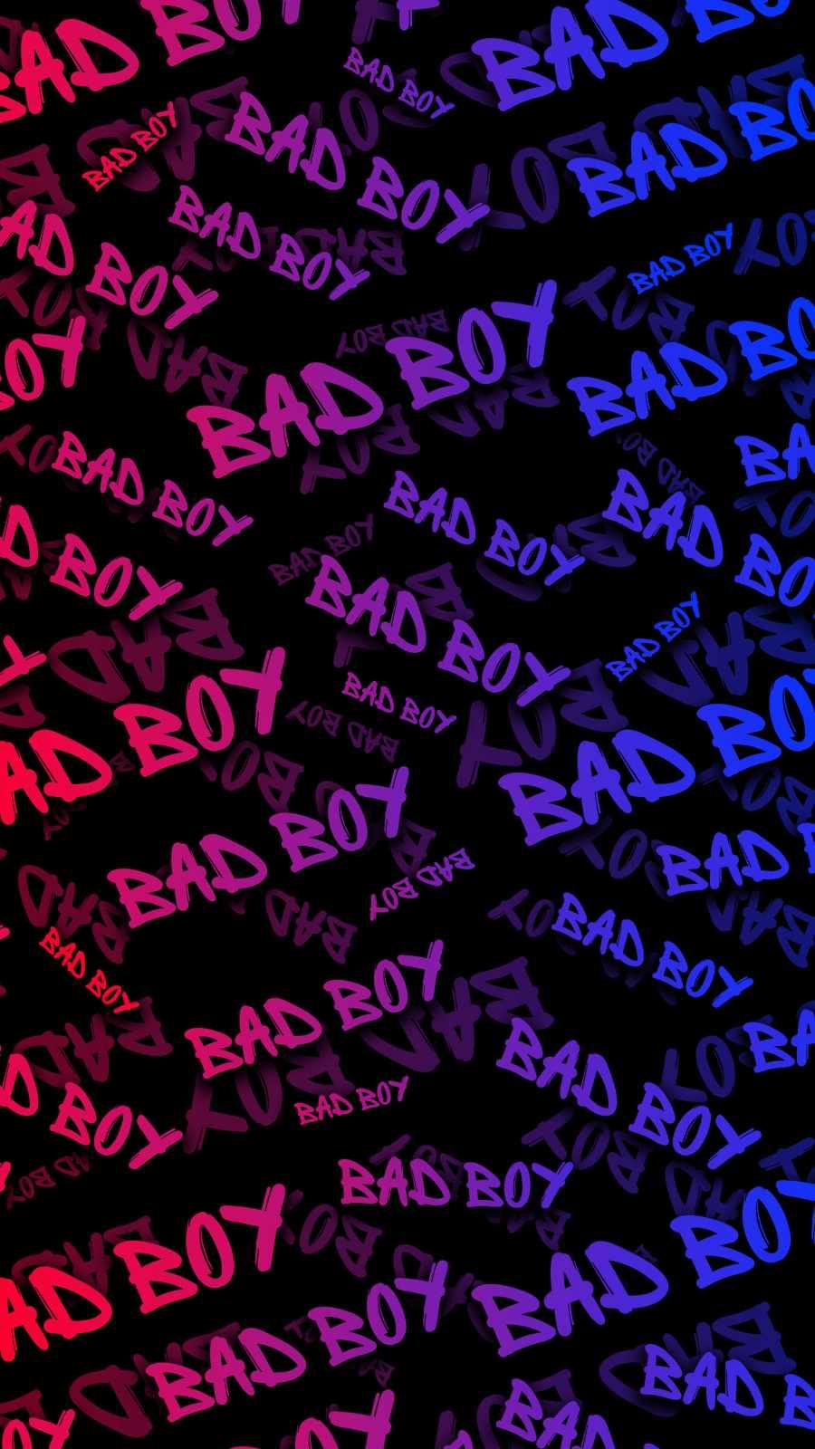 Bad Boy iPhone Wallpaper