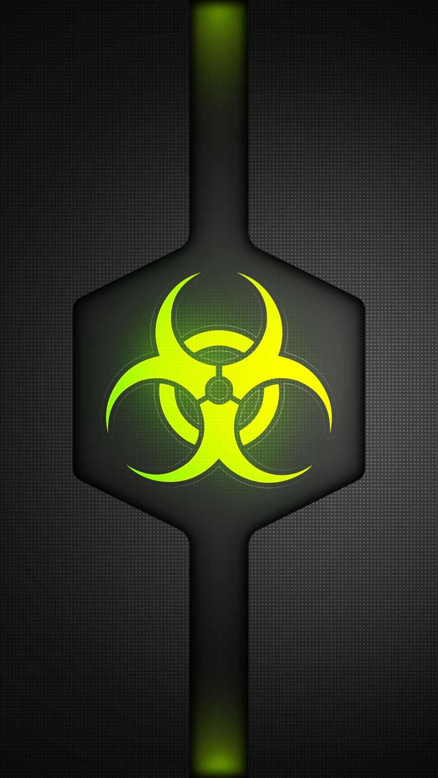 Bio Hazard iPhone Wallpaper