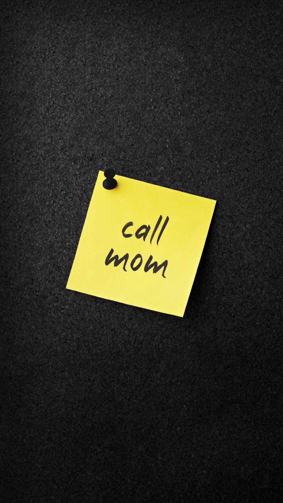 Call Mom iPhone Wallpaper