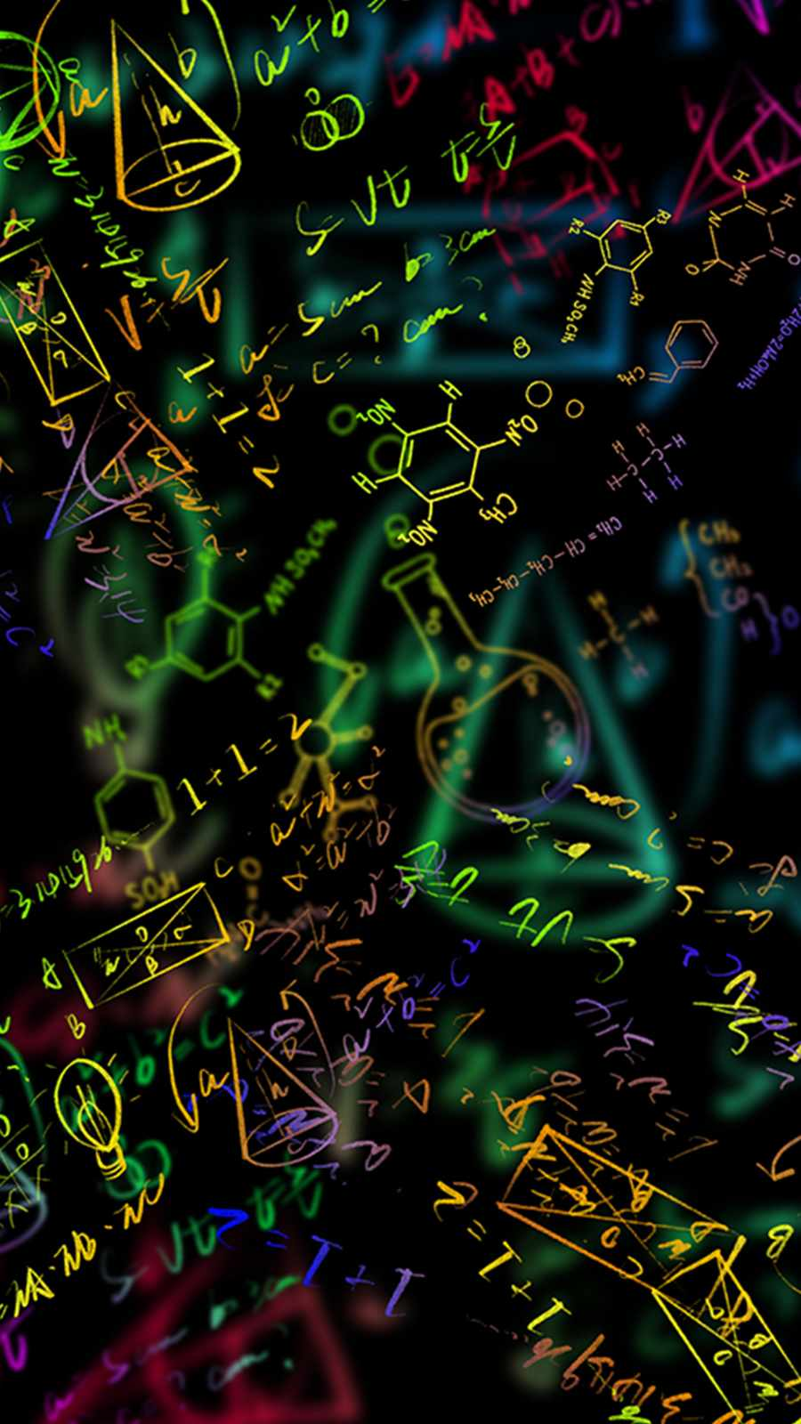 Chemistry Formula iPhone Wallpaper