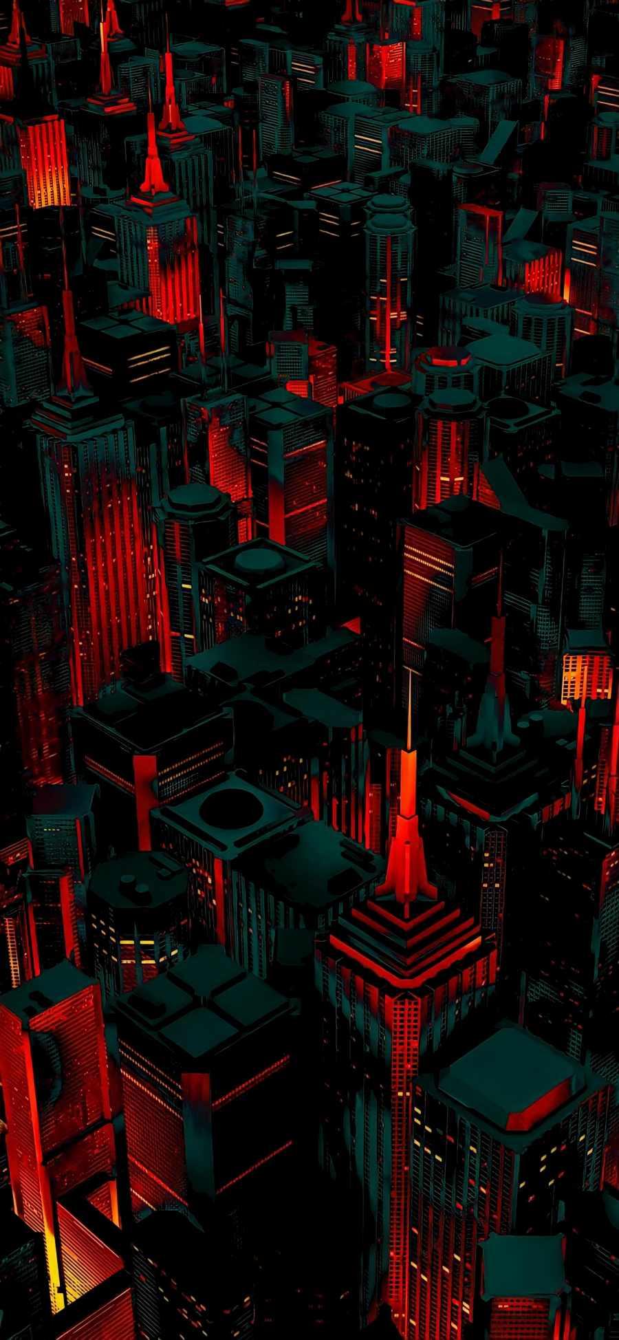 Cityscape iPhone Wallpaper