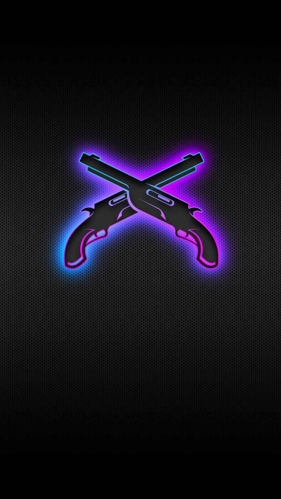 Cross Guns iPhone Wallpaper