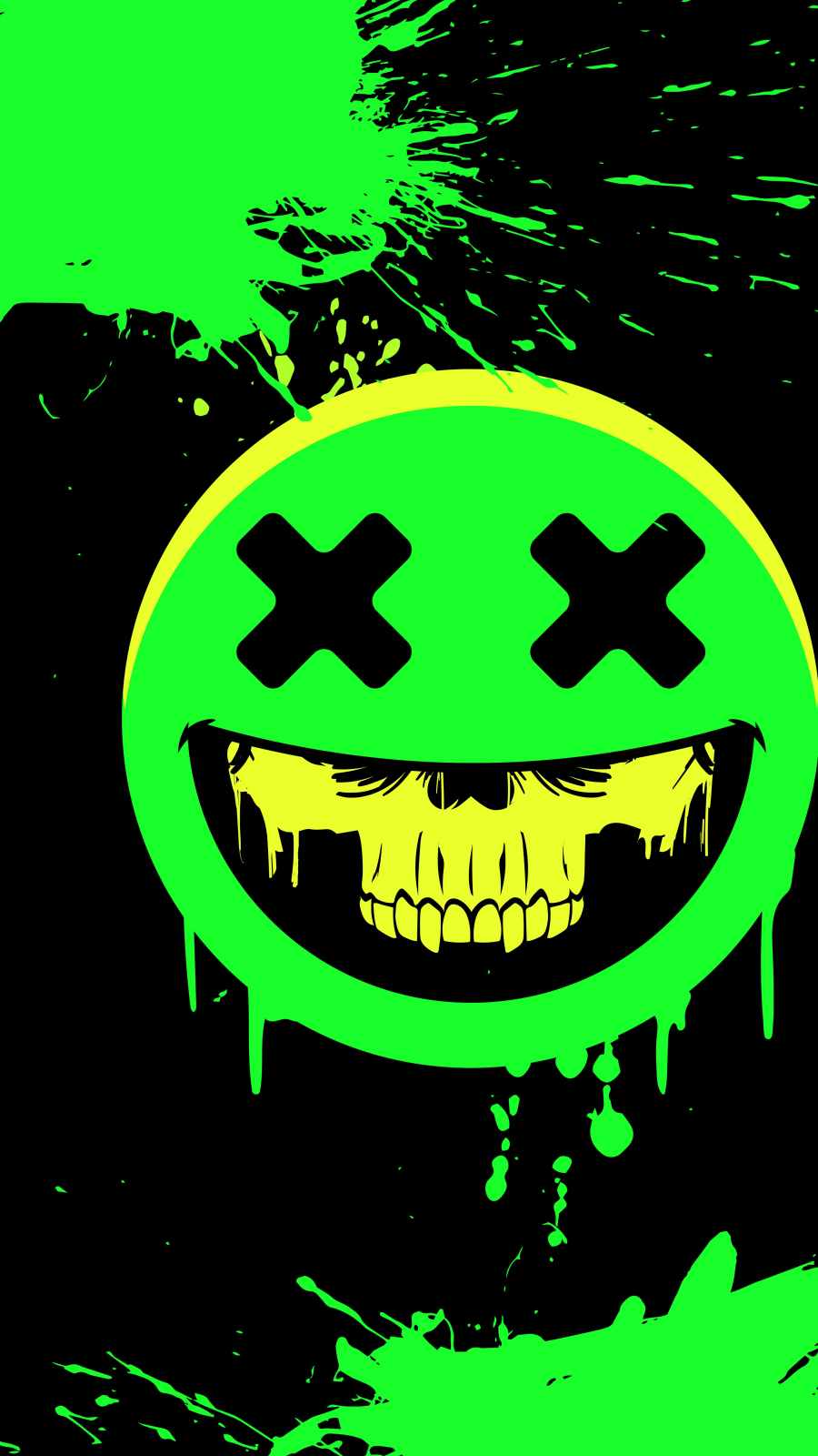 Deadly Smile iPhone Wallpaper