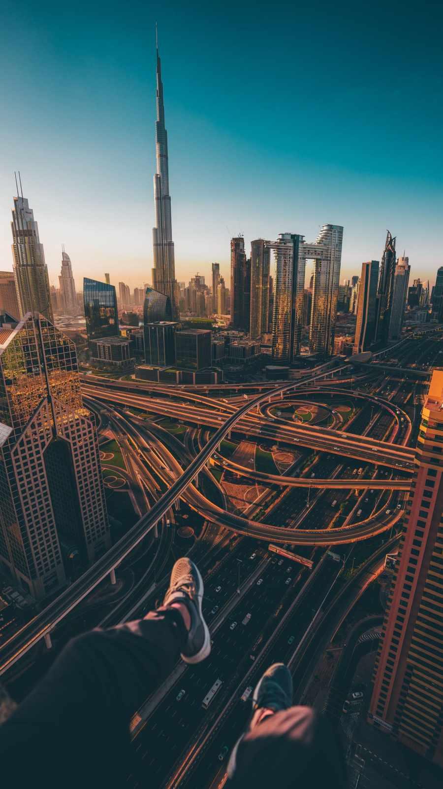 Dubai Vibes iPhone Wallpaper