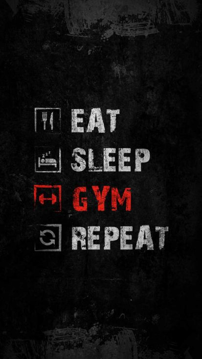 Eat Sleep Gym Repeat 1