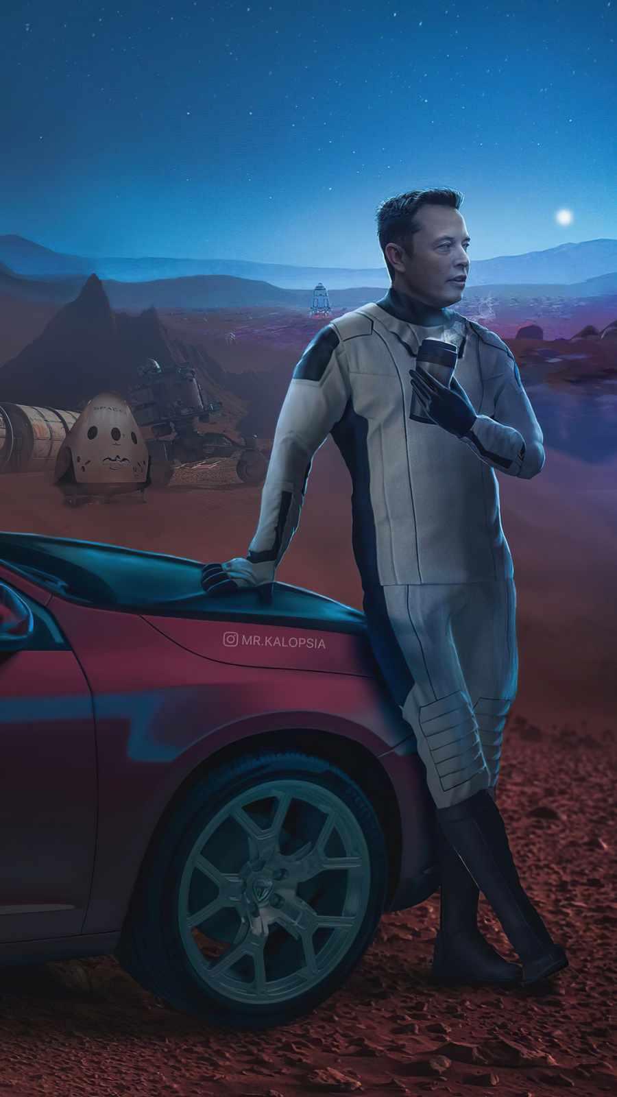 Elon Musk Mars Space X