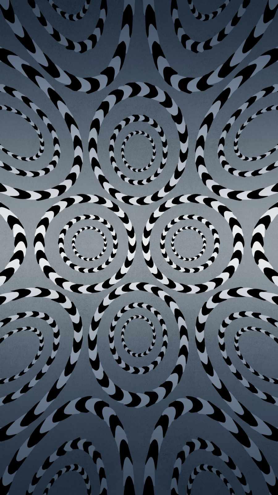 Eye Illusion iPhone Wallpaper