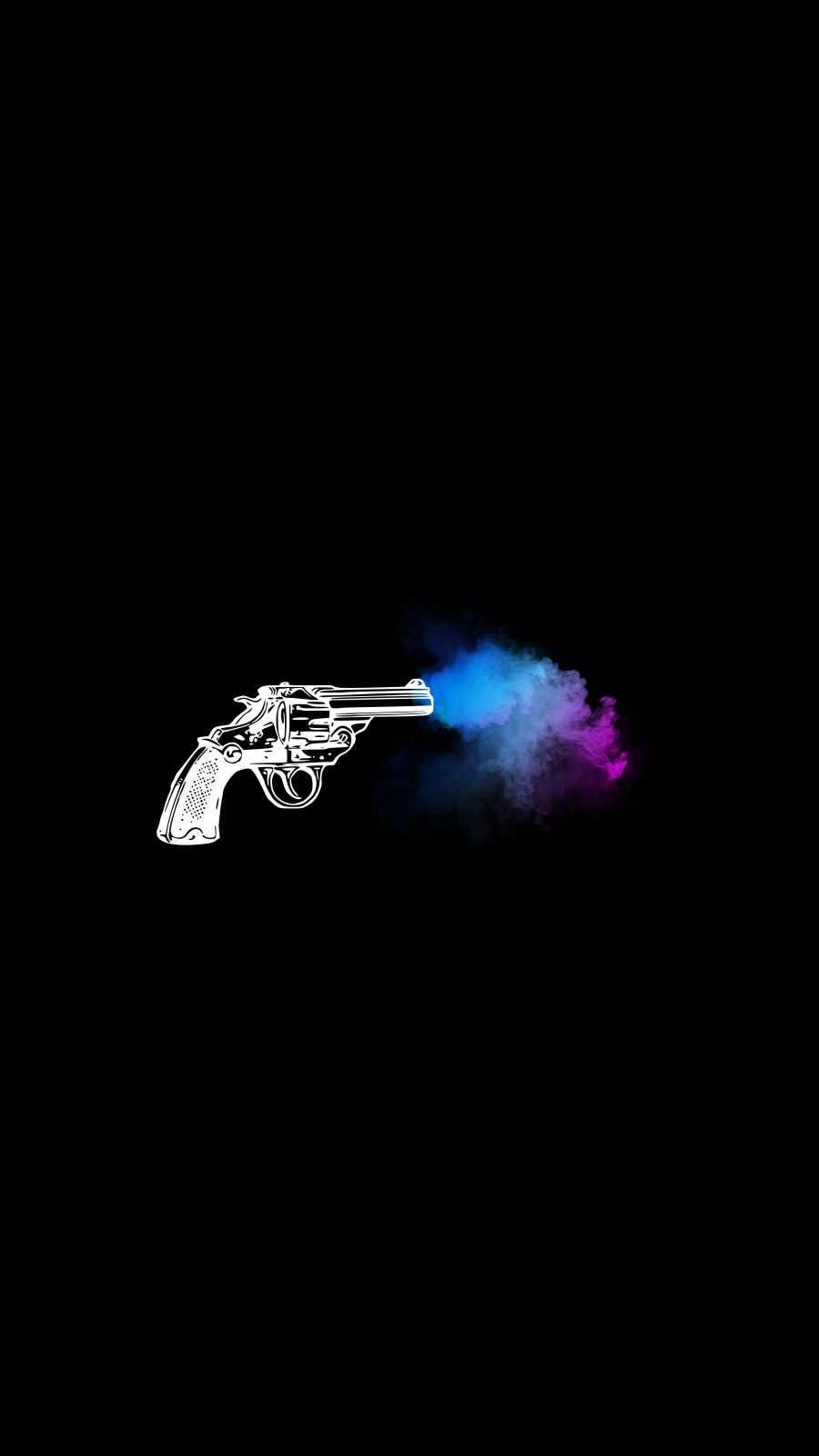 Gun Smoke iPhone Wallpaper