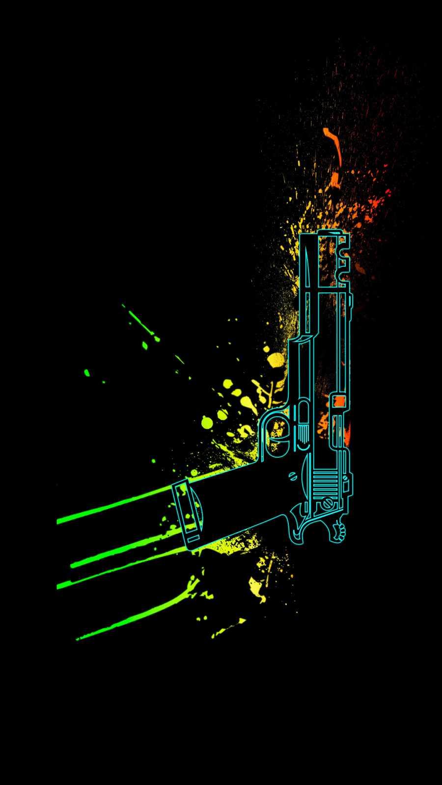 Gun Splash iPhone Wallpaper
