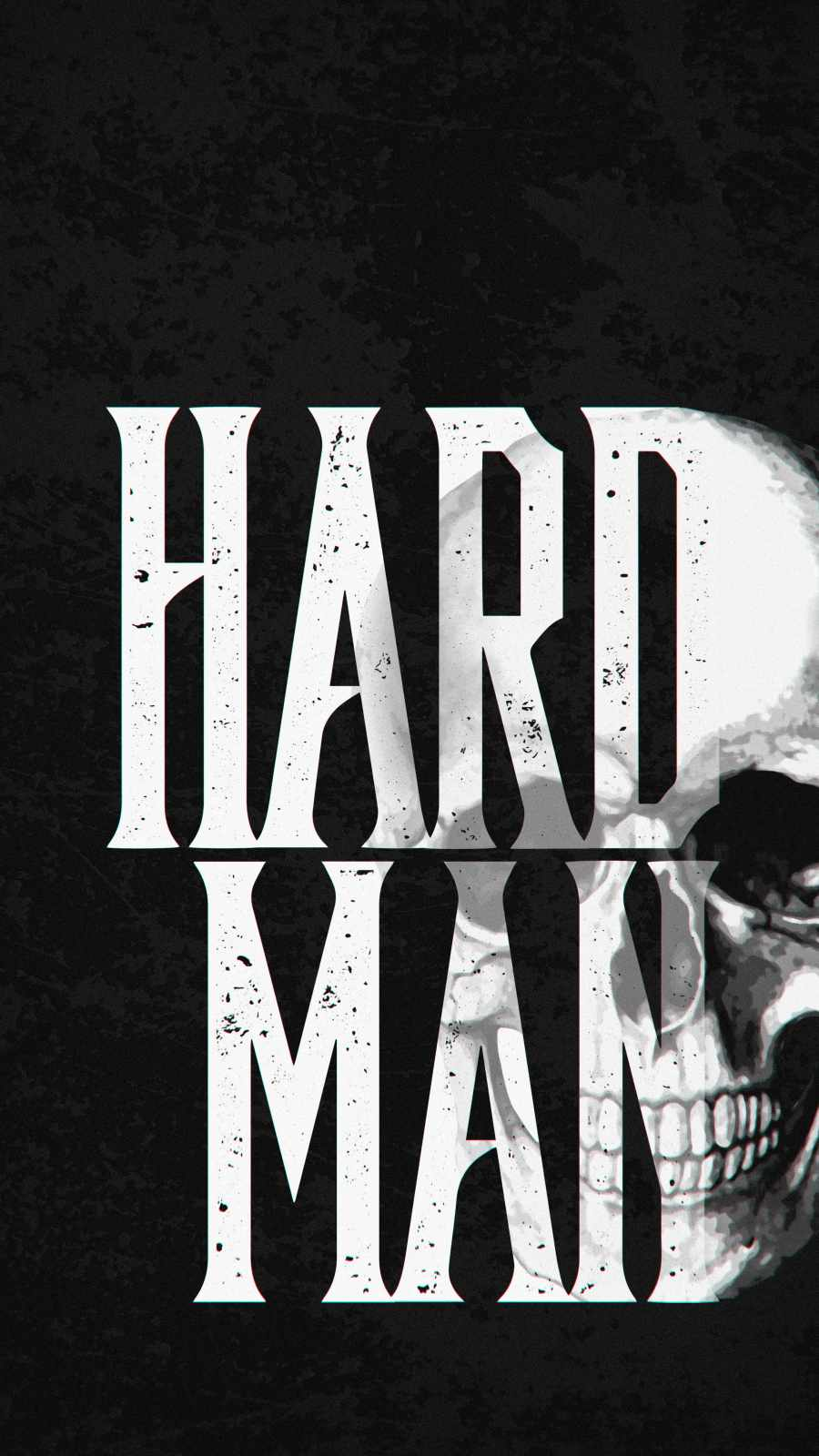 Hard Man iPhone Wallpaper