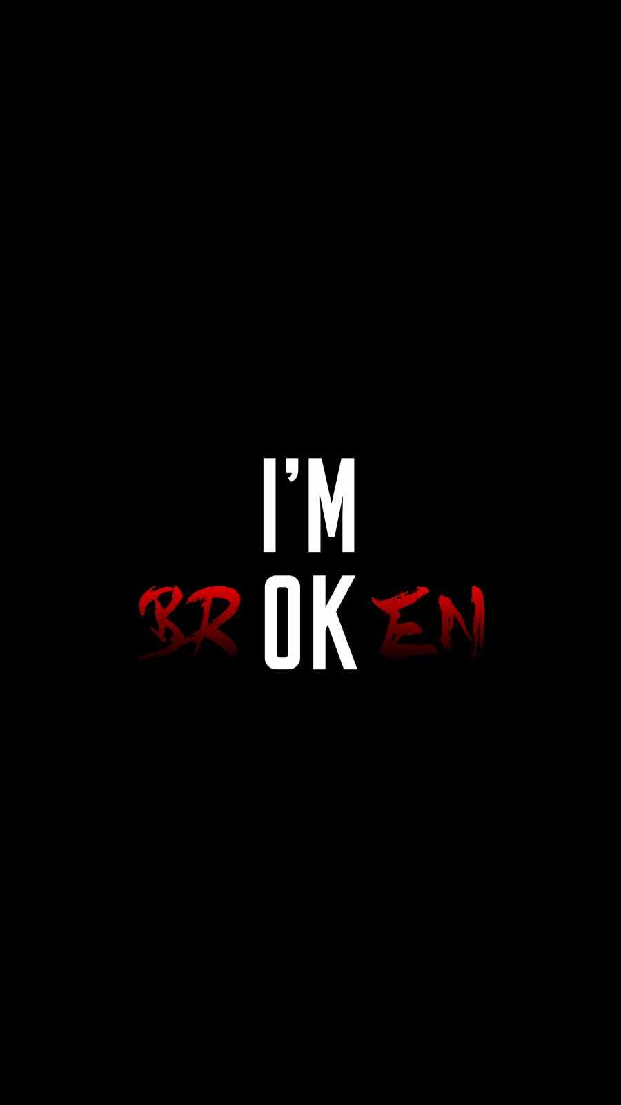 I am OK iPhone Wallpaper