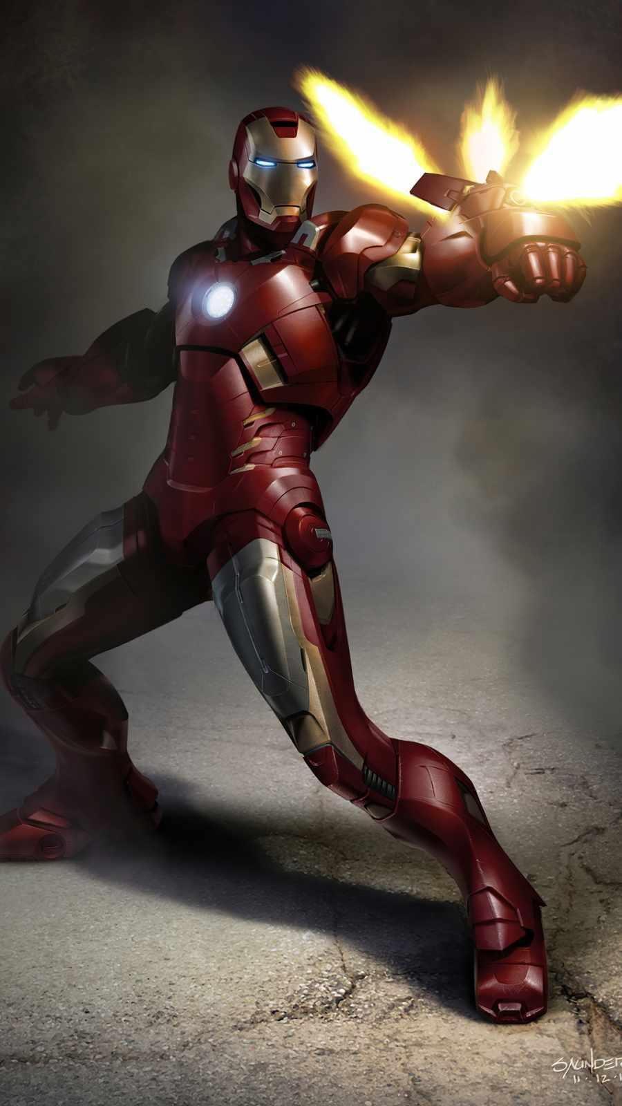 Iron Man Gun Fire