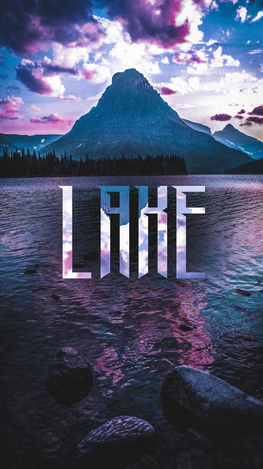 LAKE iPhone Wallpaper