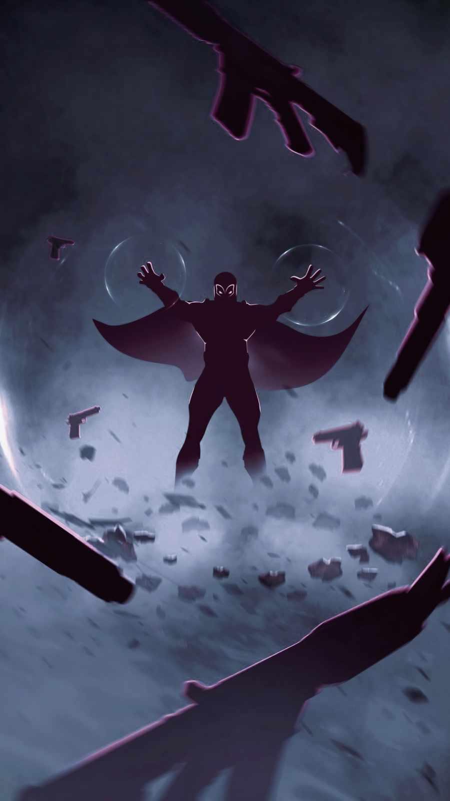 Magneto 2022 iPhone Wallpaper